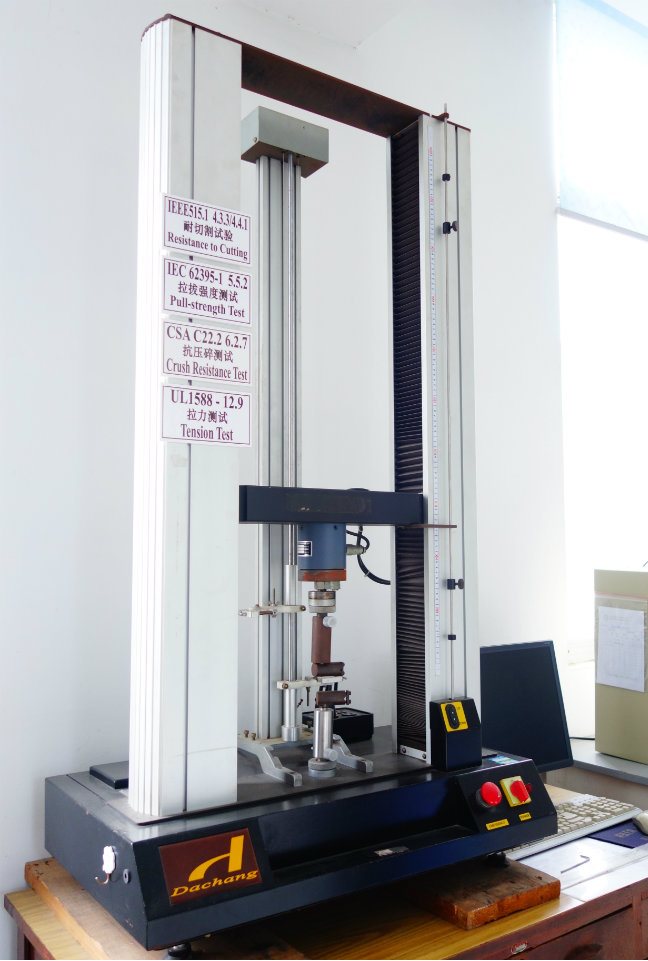 Computerized Ttensil/Pressure Testing Machine